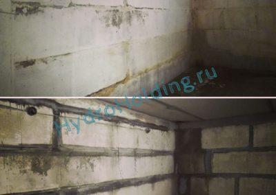 Гидроизоляция стен из блоков ФБС Красноярск