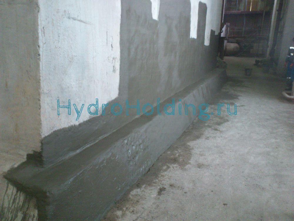 Гидроизоляция стены
