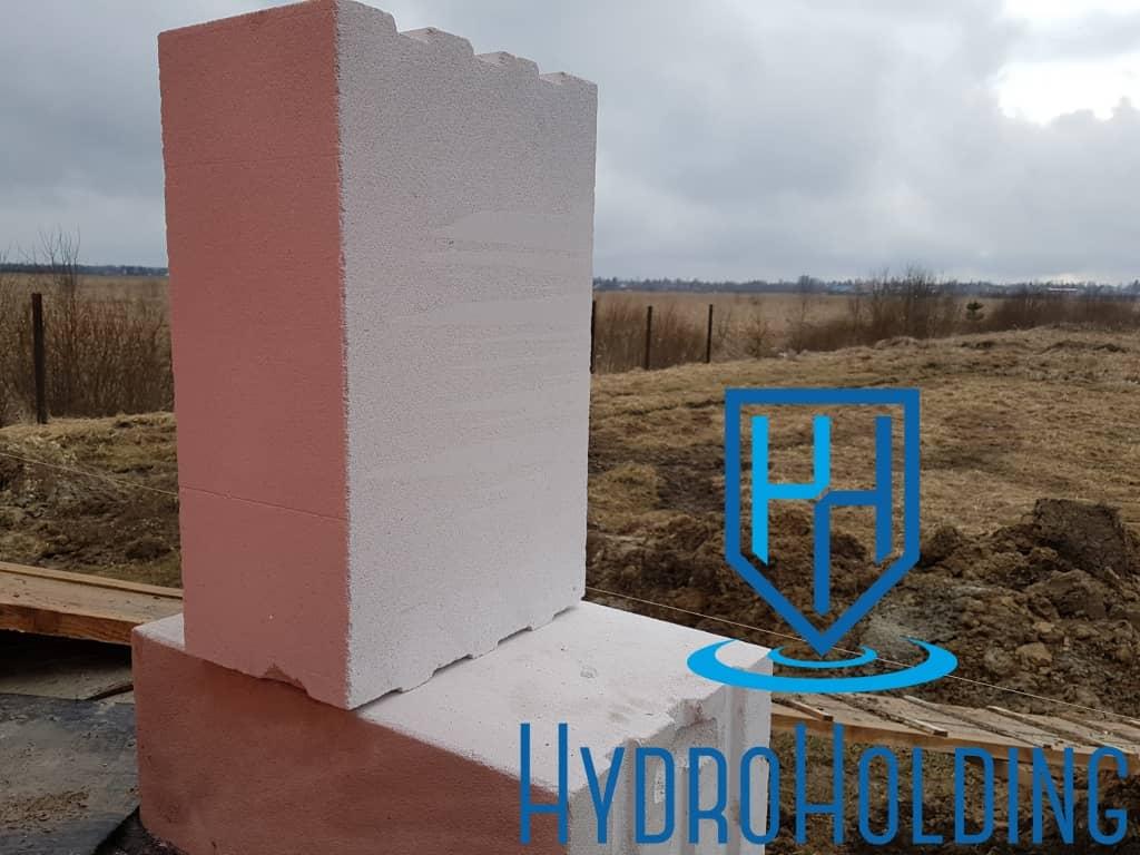Гидроизоляция стен из газобетона Красноярск